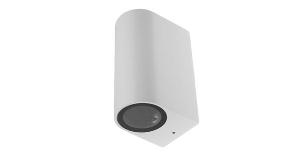LED Φωτιστικό Τοίχου Αρχιτεκτονικού Φωτισμού Λευκό Up Down GU10 IP65  90095