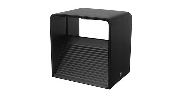 LED Φωτιστικό Τοίχου Απλίκα Κύβος Αρχιτεκτονικού Φωτισμού Μαύρο IP54 10 Watt CREE Θερμό Λευκό  96434