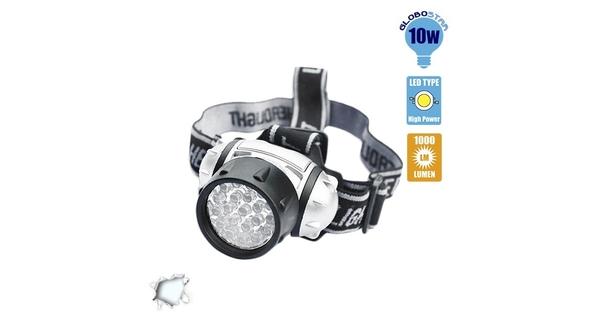 79053 Φακός Κεφαλής LED Diode 10 Watt 1000 lm Ψυχρό Λευκό 6000 K