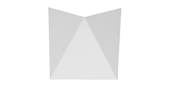 LED Φωτιστικό Τοίχου Απλίκα STEALTH Αρχιτεκτονικού Φωτισμού Λευκό IP65 10 Watt CREE Φυσικό Λευκό GloboStar 96502
