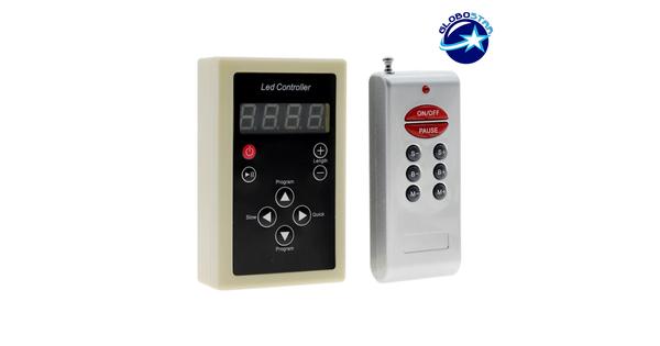 LED Digital Controller για LED Digital Strip RGB GloboStar 04036