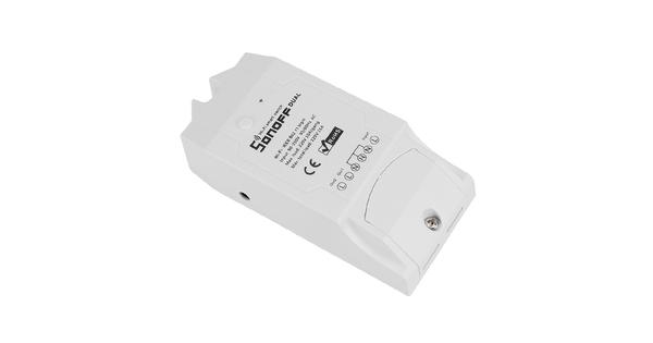 SONOFF 2 Channel Smart Home Switch WiFi - Ασύρματος Έξυπνος Διακόπτης Ράγας με 2 Κανάλια  48453