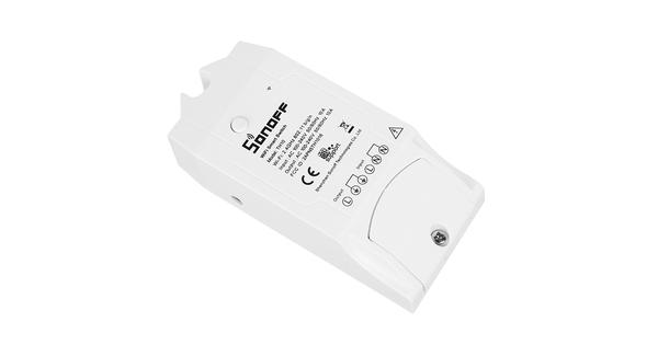 SONOFF TH10 Monitor Smart Home Temperature & Humidity WiFi - Ασύρματος Έξυπνος Διακόπτης Μετρητής Υγρασίας & Θερμοκρασίας WiFi 10 Ampere  48459