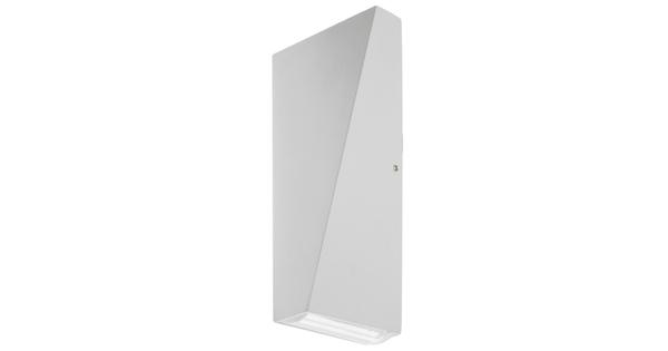 LED Φωτιστικό Τοίχου Αρχιτεκτονικού Φωτισμού Λευκό Up Down 10 Watt 20° & 100° Θερμό Λευκό IP65 GloboStar 96410
