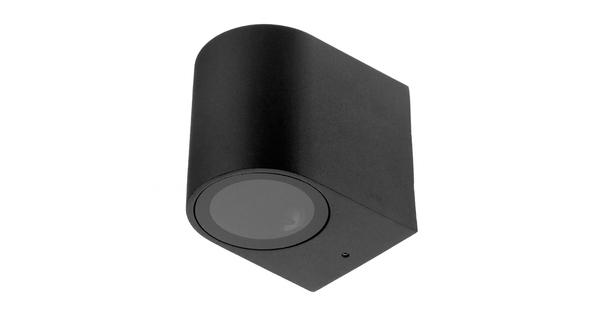 LED Φωτιστικό Τοίχου Αρχιτεκτονικού Φωτισμού Μαύρο Down GU10 IP65  90090