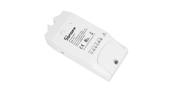 SONOFF TH16 Monitor Smart Home Temperature & Humidity WiFi - Ασύρματος Έξυπνος Διακόπτης Μετρητής Υγρασίας & Θερμοκρασίας WiFi 16 Ampere  48460