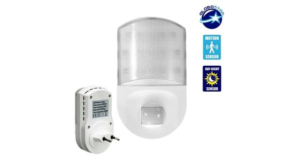 Φωτιστικό Νυκτός Πρίζας LED με Ανιχνευτή Κίνησης  77861