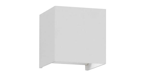 LED Φωτιστικό Τοίχου Αρχιτεκτονικού Φωτισμού Λευκό Up Down με Ρυθμιζόμενες Μοίρες Φωτισμού 10-100° Θερμό Λευκό IP65  96401
