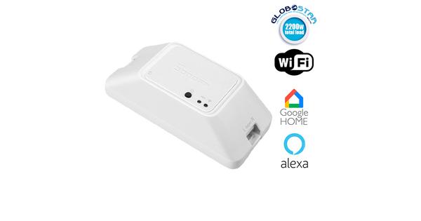 SONOFF Basic R3 - WIFI DIY Smart Switch - Διακόπτης Smart SONOFF 10A 2200W WiFi για Απομακρυσμένη Διαχείριση Συσκευών  48483