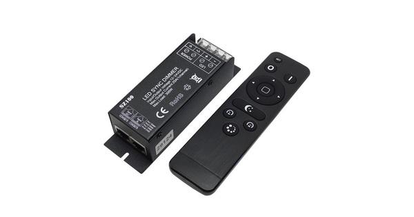 Ασύρματο LED RF SYNC Dimmer 12-24 Volt 300 Watt με Τηλεχειριστήριο  04044