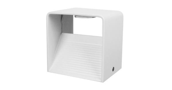 LED Φωτιστικό Τοίχου Απλίκα Κύβος Αρχιτεκτονικού Φωτισμού Λευκό IP54 10 Watt CREE Θερμό Λευκό GloboStar 96431