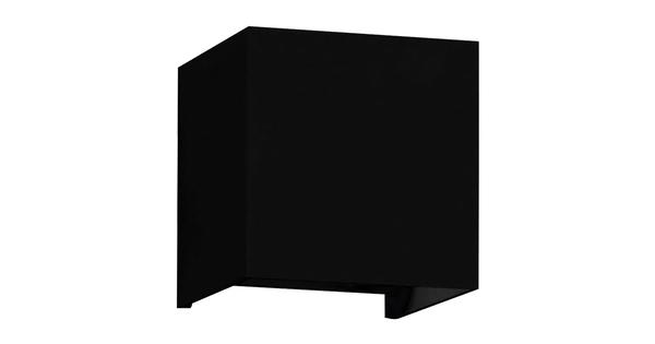 LED Φωτιστικό Τοίχου Αρχιτεκτονικού Φωτισμού Μαύρο Up Down με Ρυθμιζόμενες Μοίρες Φωτισμού 10-100° Θερμό Λευκό IP65  96404