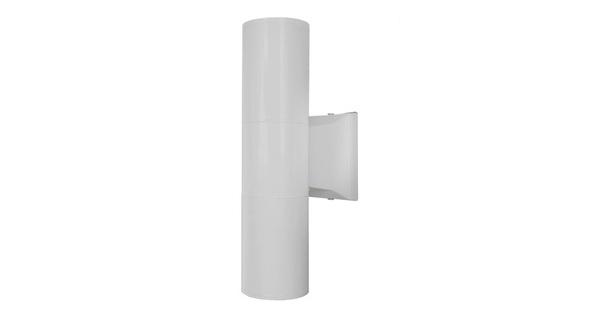 Φωτιστικό Τοίχου Wally Λευκό Αλουμινίου IP65 Up / Down Gu10  90082