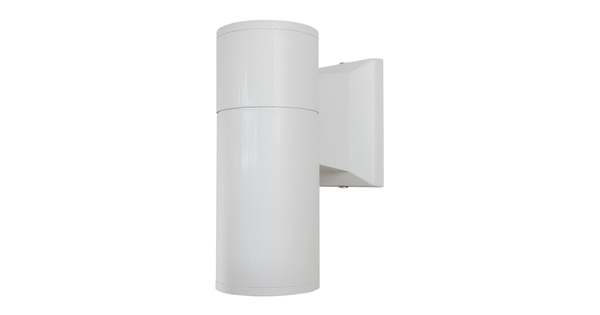Φωτιστικό Τοίχου Wally Λευκό Αλουμινίου IP65 Down Gu10  90081