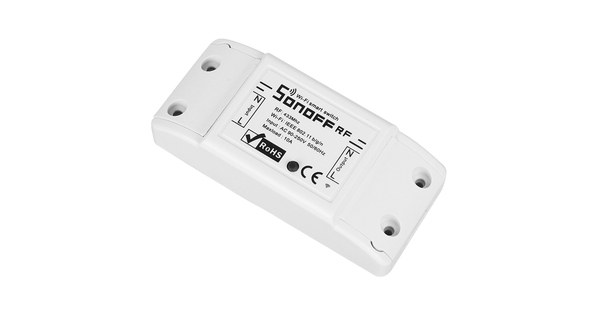 SONOFF Basic Smart Home Switch WiFi & RF 433.92MHz - Ασύρματος Έξυπνος Διακόπτης WiFi & RF GloboStar 48458