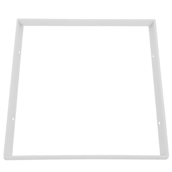 Πλαίσιο Στήριξης PVC Επιτοίχιας Τοποθέτησης για LED Πάνελ 60x60 Λευκό GloboStar 01816
