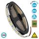 Ταινία LED 5050 SMD 5m 14.4W/m 60LED/m 1688 lm/m 120° DC 24V IP20 Φυσικό Λευκό 4500k  70221