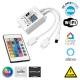 73411 Ασύρματος WiFi LED RGB Controller Smart Home με 2 Εξόδους και Χειριστήριο IR RGB 12v (100w) - 24v (200w) DC