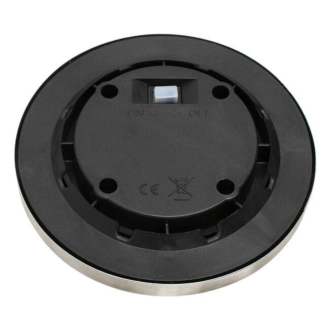 GloboStar® 71503 Αυτόνομο Ηλιακό Φωτιστικό Κήπου LED SMD 3W 170 lm με Ενσωματωμένη Μπαταρία 600mAh - Φωτοβολταϊκό Πάνελ με Αισθητήρα Ημέρας-Νύχτας IP65 Θερμό Λευκό 3000k - 4