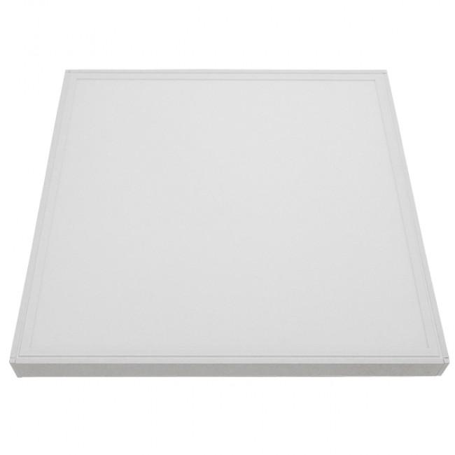 Πλαίσιο Στήριξης PVC Επιτοίχιας Τοποθέτησης για LED Πάνελ 60x60 Λευκό GloboStar 01816 - 4