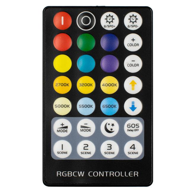 73427 Ασύρματος LED RGBW + WW Controller με Χειριστήριο RF 2.4Ghz DC 5-24V Max 144W - 4
