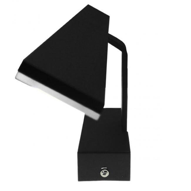 LED Φωτιστικό Τοίχου Αρχιτεκτονικού Φωτισμού 58cm Καθρέπτη / Πίνακα Μαύρο IP54 14 Watt SMD Φυσικό Λευκό GloboStar 93346 - 2