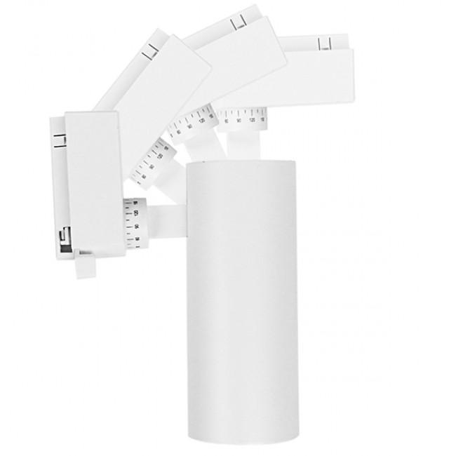 Μονοφασικό Bridgelux COB LED Λευκό Φωτιστικό Σποτ Ράγας 20W 230V 2500lm 30° Φυσικό Λευκό 4500k GloboStar 93100 - 7