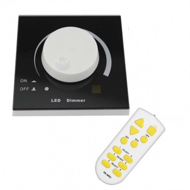 Dimmer Knob για LED 220 Volt 200 Watt Trailing Edge Ασύρματο GloboStar 50050 - 1