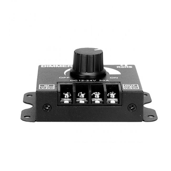 Εξωτερικό Dimmer Knob 12-24 Volt 30 Ampere 360/720 Watt GloboStar 50041 - 4