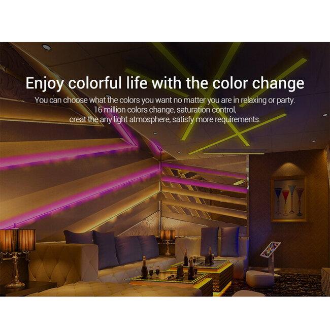 73425 Mi-Light B0 LED RGBW+WW+CCT Smart Ασύρματο Χειριστήριο Αφής 2.4G RF Φορητό/Τοίχου με Μπαταρία για όλα τα Mi-Light Controller Box - 17