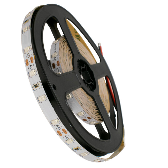 GloboStar® 70006 Ταινία LED 3528 SMD 5m 4.8W/m 60LED/m 200 lm/m 120° DC 12V IP20 Μπλε - 5 Χρόνια Εγγύηση - 2