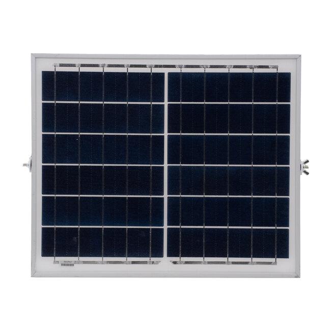 71555 Αυτόνομος Ηλιακός Προβολέας LED SMD 40W 3200lm με Ενσωματωμένη Μπαταρία 5000mAh - Φωτοβολταϊκό Πάνελ με Αισθητήρα Ημέρας-Νύχτας και Ασύρματο Χειριστήριο RF 2.4Ghz Αδιάβροχος IP66 Ψυχρό Λευκό 6000K - 8