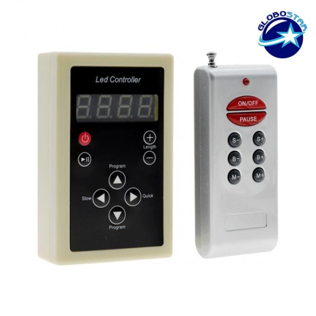 LED Digital Controller για LED Digital Strip RGB GloboStar 04036 - 1