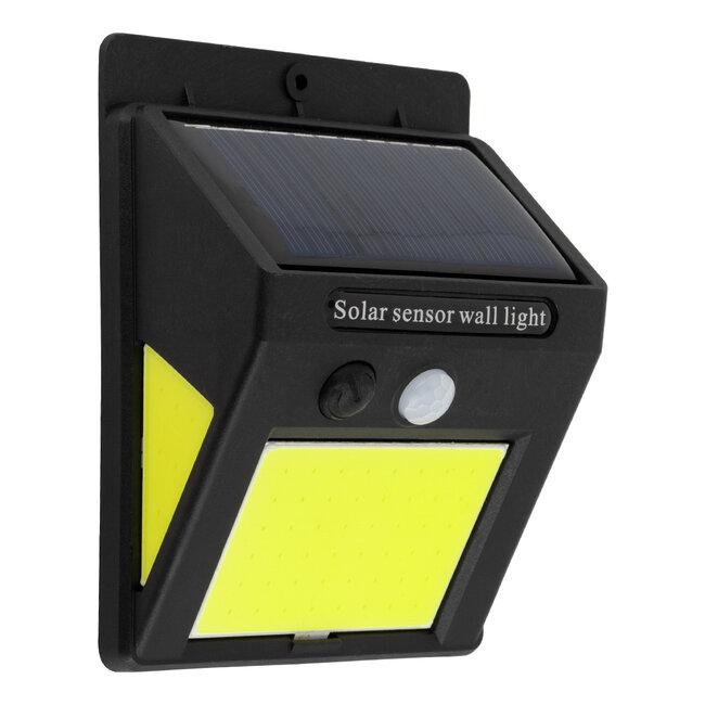 71496 Αυτόνομο Ηλιακό Φωτιστικό LED COB 12W 1200lm με Ενσωματωμένη Μπαταρία 1200mAh - Φωτοβολταϊκό Πάνελ με Αισθητήρα Ημέρας-Νύχτας και PIR Αισθητήρα Κίνησης IP65 Ψυχρό Λευκό 6000K - 2