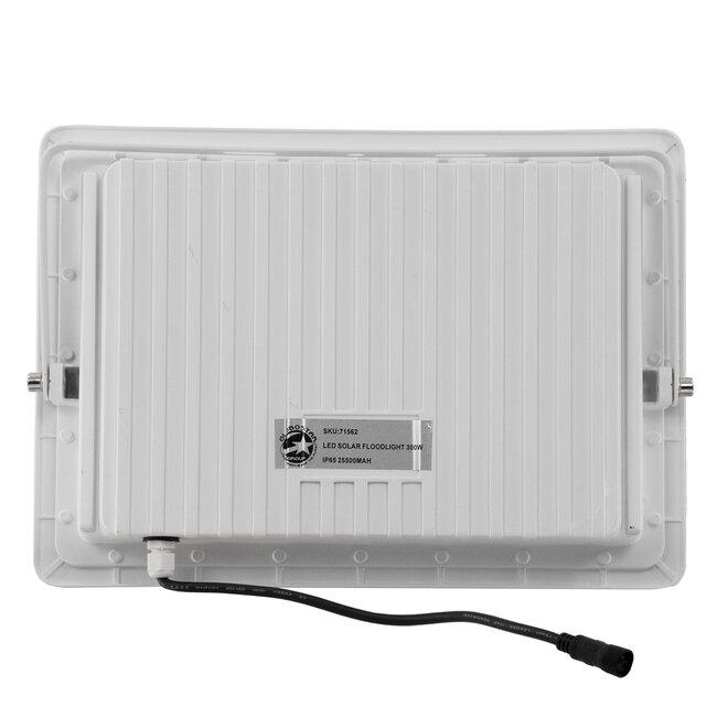 71562 Αυτόνομος Ηλιακός Προβολέας LED SMD 300W 36000lm με Ενσωματωμένη Μπαταρία 25500mAh - Φωτοβολταϊκό Πάνελ με Αισθητήρα Ημέρας-Νύχτας και Ασύρματο Χειριστήριο RF 2.4Ghz Αδιάβροχος IP66 Ψυχρό Λευκό 6000K - 6