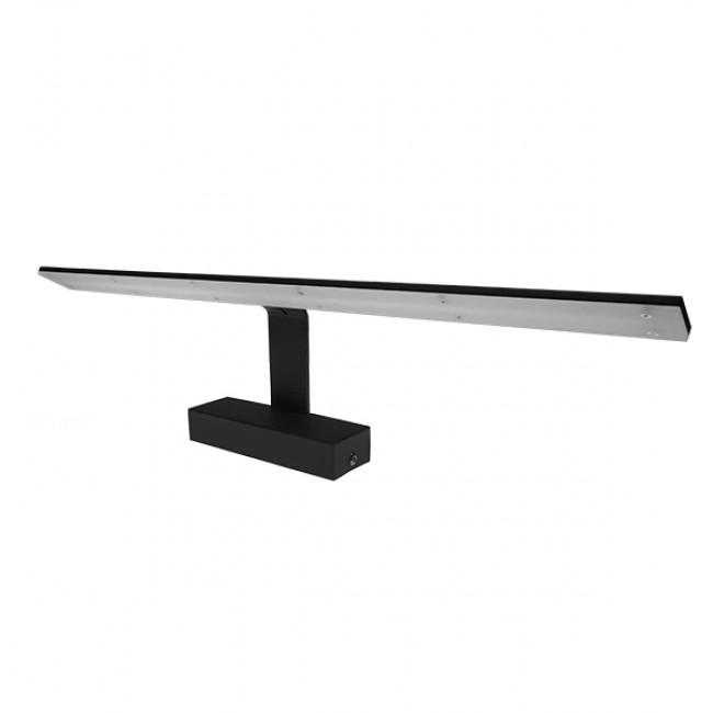LED Φωτιστικό Τοίχου Αρχιτεκτονικού Φωτισμού 58cm Καθρέπτη / Πίνακα Μαύρο IP54 14 Watt SMD Φυσικό Λευκό GloboStar 93346 - 1