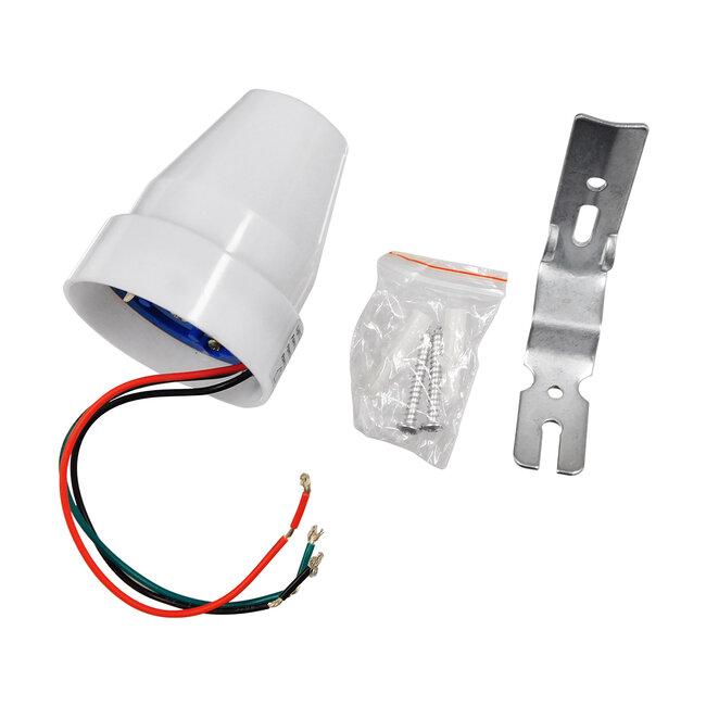 GloboStar® 75703 Αισθητήρας Φωτοκύτταρο Ημέρας-Νύχτας Day-Night Sensor 360° AC 230V Max 2200W - 9