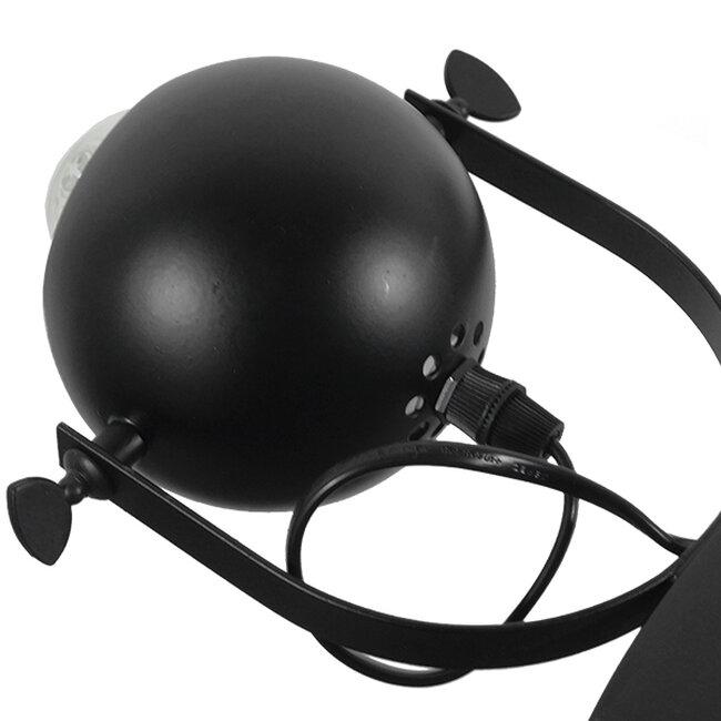 Μοντέρνο Industrial Κρεμαστό Φωτιστικό Οροφής Πολύφωτο Μαύρο Μεταλλικό Πολυέλαιος με Κινούμενα Σποτ Φ66  LINNYA 01219 - 12