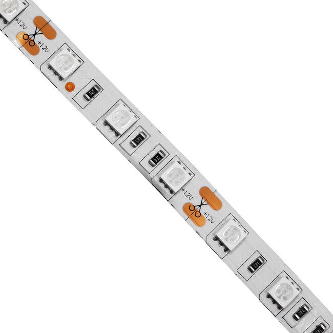 GloboStar® 70125 Ταινία LED SMD 5050 5m 14.4W/m 60LED/m 1454 lm/m 120° DC 12V Αδιάβροχη IP65 Πράσινο - 5 Χρόνια Εγγύηση - 3