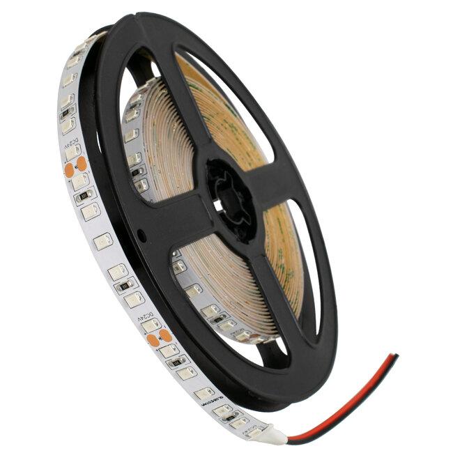 GloboStar® 70235 Ταινία LED SMD 2835 5m 8W/m 120LED/m 960 lm/m 120° DC 24V IP20 Πράσινο - 2