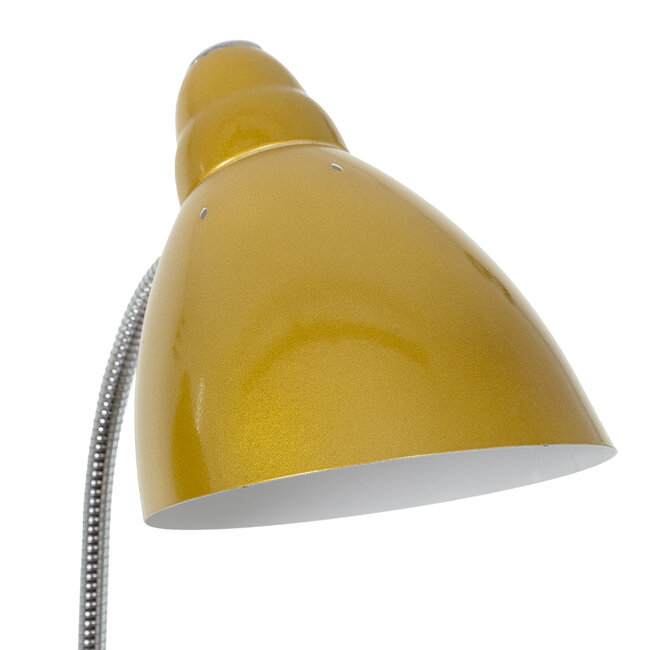 VERSA 00833 Μοντέρνο Φωτιστικό Δαπέδου Μονόφωτο Μεταλλικό Χρυσό με Μαύρη Μαρμάρινη Βάση Φ14.5 x Υ155cm - 5