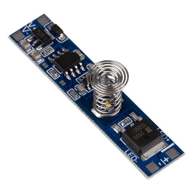 GloboStar® 70699 Mini Αισθητήρας Modular για Προφίλ Αλουμινίου με Διακόπτη Αφής Touch Sensor DC 5-24V Max 192W - 2