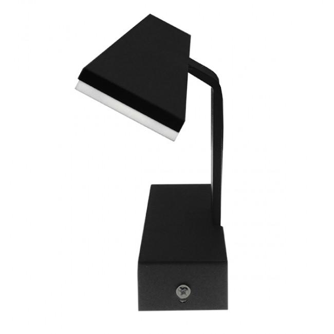 LED Φωτιστικό Τοίχου Αρχιτεκτονικού Φωτισμού 42cm Καθρέπτη / Πίνακα Μαύρο IP54 12 Watt SMD Φυσικό Λευκό GloboStar 93343 - 2