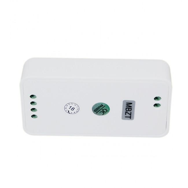 Σετ Ασύρματο RF 2.4G LED Controller Τοίχου Αφής RGB 12-24 Volt 576/1152 Watt για Τέσσερα Group GloboStar 04054 - 5
