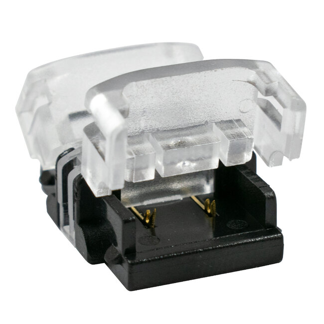 GloboStar® 70717 Ταχυσύνδεσμος Ένωσης IP20 - Strip To Strip Connector για Ένωση 2 x Μονόχρωμες Ταινίες LED Πλάτους 10mm - 3