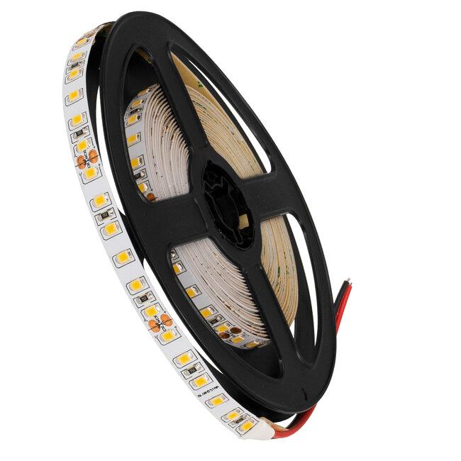 GloboStar® 70232 Ταινία LED SMD 2835 5m 8W/m 120LED/m 1232 lm/m 120° DC 24V IP20 Θερμό Λευκό 3000K - 5 Χρόνια Εγγύηση - 2
