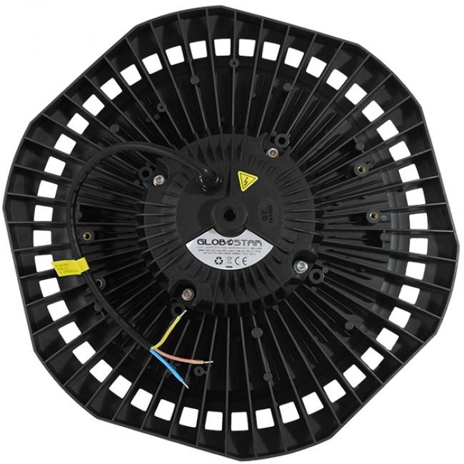 Επαγγελματική Καμπάνα UFO High Bay 200W 230V 28000lm 100° Αδιάβροχη IP66 Ψυχρό Λευκό 5000k GloboStar 78012 - 4