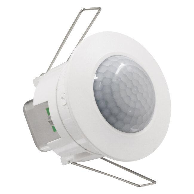 75706 Χωνευτός Αισθητήρας Οροφής με PIR Ανιχνευτή-Αισθητήρα Κίνησης 360° 6m και Αισθητήρα Ημέρας-Νύχτας - Motion Sensor AC 230V Max 300W/1200W - 7