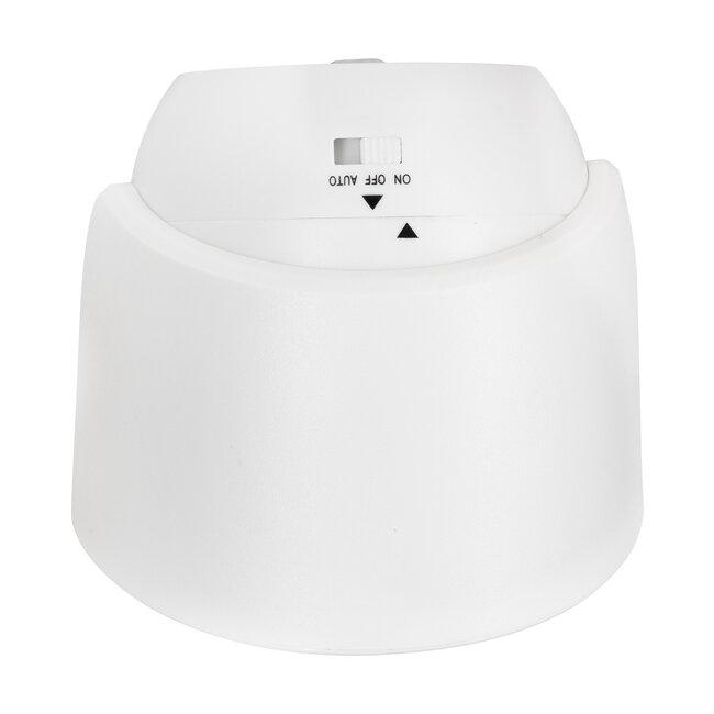 79000 Λευκό Φωτιστικό Μπαταρίας σε Σχήμα Κάμερας LED SMD 3W 300lm με Αισθητήρα Ημέρας-Νύχτας και PIR Αισθητήρα Κίνησης Ψυχρό Λευκό 6000K - 7