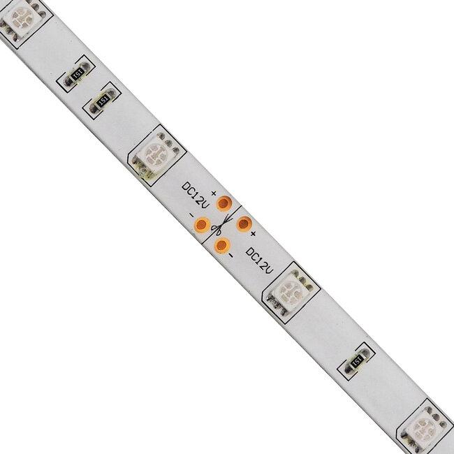 GloboStar® 70116 Ταινία LED SMD 5050 5m 7.2W/m 30LED/m 727 lm/m 120° DC 12V Αδιάβροχη IP65 Μπλε - 5 Χρόνια Εγγύηση - 3